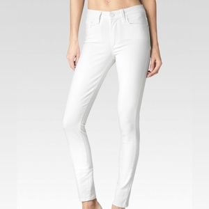 Paige Hoxton Ankle Optic White Jeans